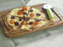 Tortillapizza med reinskav