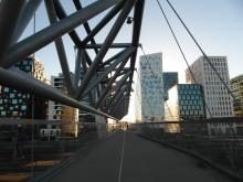 Neues Bauen und Leben in Oslos früherem Hafengelände: Das Barcode-Viertel.