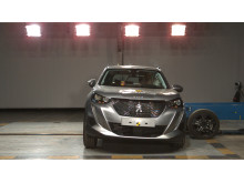 Peugeot 2008 side crash test Dec 2019