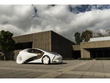 Toyota Concept-i är ett fullstort fordon med plats för fyra personer