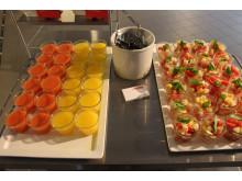 Frukost från Restaurang Station i Hagastaden