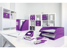 Leitz WOW range in Purple