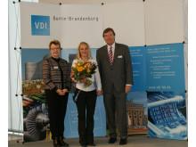 """Masterabsolventin der TH Wildau erhielt 2. Preis im VDI-Wettbewerb """"Mensch und Technik 2017"""""""