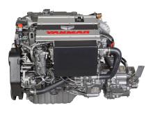 High res image - YANMAR - new 4LV marine diesel engine-left-side