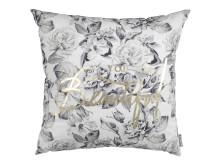 Cushion SALVIA 45x45 flowers gold_grey (99 DKK)