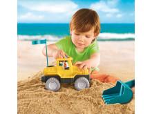 Coole Fahrzeuge mit abnehmbarem Sandspielzeug