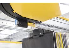 SSI Carrier-systemet kører på vedligeholdelsesfrie ruller