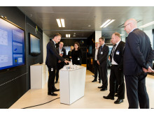 Jesper Schleimann and customers in the Run Simple Room in CXC CPH_05.10.17