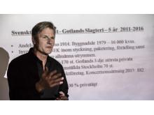 Thomas Östlund, vd Gotlands Slagteri