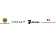 Logotyper för de företag som tillsammans delar ut NovaStipendiet