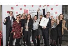 Sopra Steria fikk 2. plassen i kåringen av Norges beste arbeidsplasser