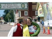 CykelVasan 2012 damsegrare Nina Gässler