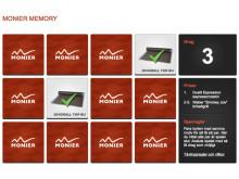 Årets sommarspel, Monier Memory, nu på monier.se