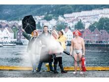 Gjengen i P5 Bergen.