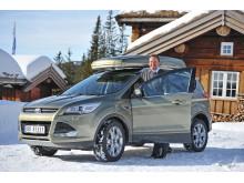 Adm. dir i Ford Motor Norge Steve Kimber ved nye Ford Kuga
