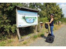 Naturlehrpfad am Grabschützer See - Segway Tour