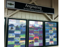 Art, Angmering station partnership May 2017