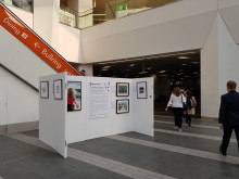 National Rail No Boundaries Exhibition at Birmingham New Street station