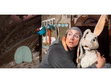 Föreställningen Min lillasyster Kanin av Dockteatern Tittut