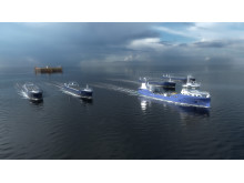 Eidsvaag Pioneer, which will be equipped for remote-operated and autonomous maritime transport