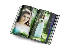 Deluxe-kuvakirja, kiiltävät sivut - kuvakirja juhlista