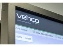 Vehco Weboffice deployed on a smart TV