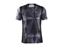 Devotion short sleeve (herr) i färgen geo black