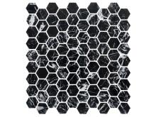 U Hexagon Nero Marquina