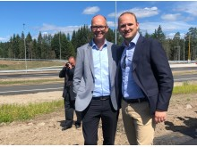 Sigurd Rugsland og Jon Georg Dale