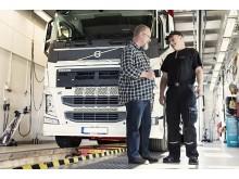 Besiktning av tungt fordon