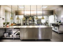 Nytt festvåningskök i Stallet med kapacitet att laga mat till 300 gäster