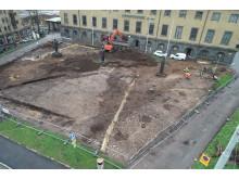 Arkeologiska utgrävningar Sjöfartsmuseet Akvariet