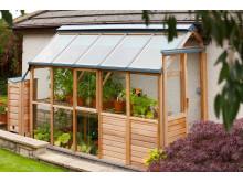 Växthus För Balkong : Vansta trädgård ab växthus i trä bilder