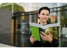 Elevator Pitch der Stiftung für Technologie, Innovation und Forschung Thüringen am 14.06.16 in Erfurt. Im Bild Mandy Schipke, Novum engineering GmbH.