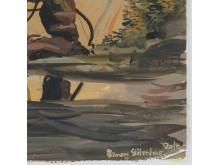 """Simon Stålenhag, """"Forest Iron"""". Utrop 100 000 kr."""