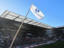 Der sozialste Gästeblock der Liga im Stadion des FC St. Pauli