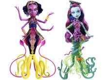 """Monster High """"DGS"""" Schreckensriff-Schülerinnen Puppen Sortiment (2)"""