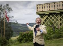 Morten Jostad som Bjørnstjerne Bjørnson på Aulestad