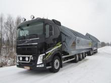 Den typ av lastbil och påbyggnad som Kaunis Iron beställt av Wist.