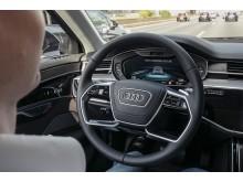 Audi AI køpilot i den nye Audi A8