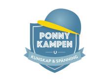Logotype Ponnykampen presenteras av Agria