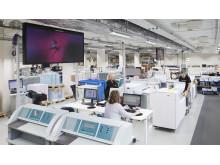 Digitaltrycksproduktion i Bromma