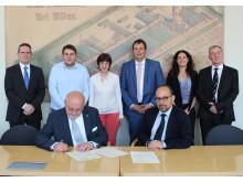 Vertrag über Master-Doppelabschlüsse bei internationalen Management-Studiengängen mit der Universität von Cordoba/Spanien unterzeichnet