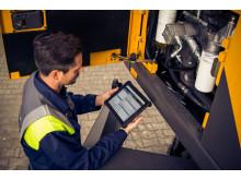 Mobile Monteursteuerung bei Swecon Baumaschinen