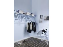 Målade hem – Anja & Filippa med Caparol Färg - Matt och blankt (endast miljöbild)