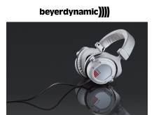 beyerdynamic Custom One Pro headphone, elegant hvid model