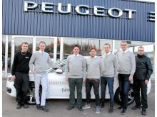 Invigning av ny Peugeot-anläggning i Hässleholm, R. Einarsson Bil