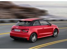 A1 red rear side dynamic