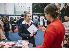 Geballte Innovationskraft beim Weltmarktführer-Forum: Unternehmen und plus-MINT Talente im Gespräch