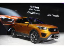 Hyundai ix25 konceptmodell bild 2